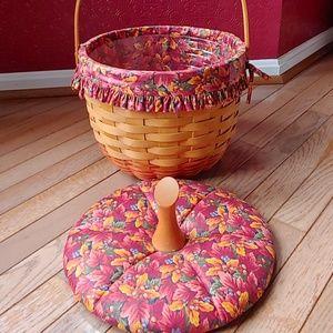 Longaberger Accents - Longaberger Pumkin Basket